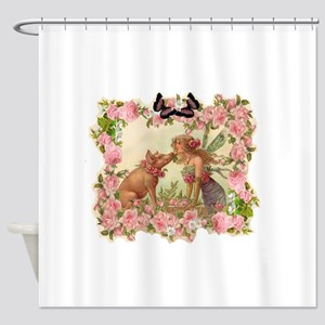 Good Luck Fairy Shower Curtain