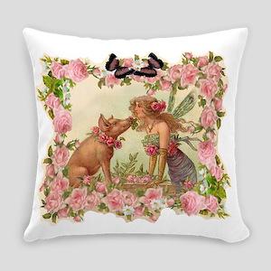Good Luck Fairy Everyday Pillow