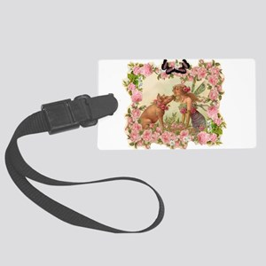 Good Luck Fairy Large Luggage Tag