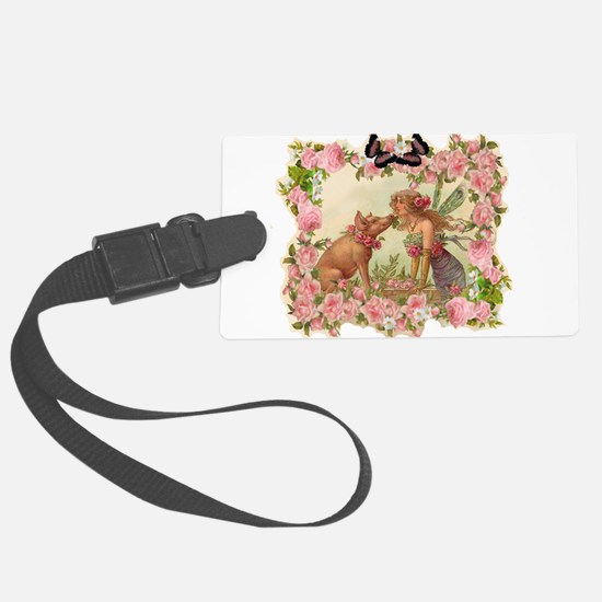 Good Luck Fairy Luggage Tag