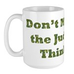 Judge Thinking Large Mug