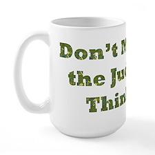 Judge Thinking Large Mug