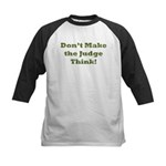 Judge Thinking Kids Baseball Jersey