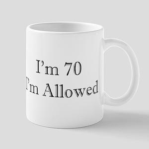 70 I'm Allowed 3 Mugs