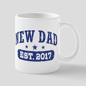 New Dad Est. 2017 Mug