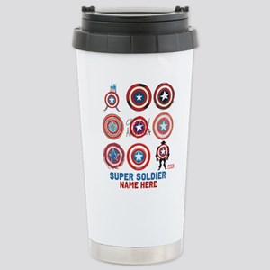 Captain America 75th An Stainless Steel Travel Mug