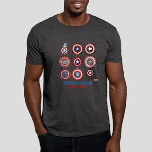 Captain America 75th Anniversary Pers Dark T-Shirt