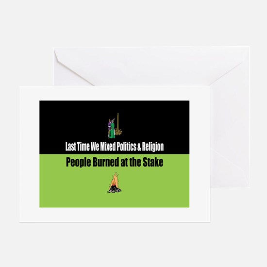 Politics and Religion Greeting Cards
