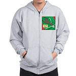 T-Rex Tennis Zip Hoodie