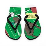 T-Rex Tennis Flip Flops