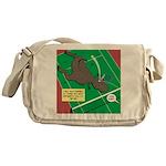 T-Rex Tennis Messenger Bag