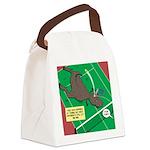 T-Rex Tennis Canvas Lunch Bag
