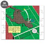 T-Rex Tennis Puzzle