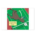 T-Rex Tennis Postcards (Package of 8)