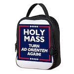 Ad Orientem Mass Turn Towards Neoprene Lunch Bag