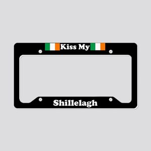 Kiss My Shillelagh License Plate Holder