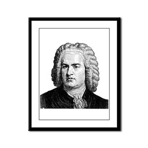 Bach Framed Panel Print