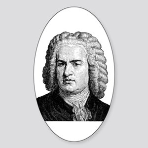 Bach Oval Sticker