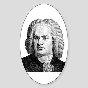 Bach Oval Sticker