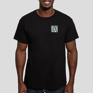 Monogram - Arthur Men's Fitted T-Shirt (dark)