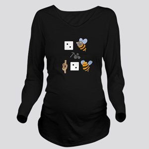 Shakespeare Humor Puzzle Long Sleeve Maternity T-S