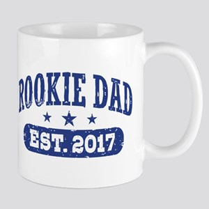 Rookie Dad Est. 2017 Mug