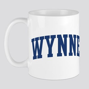 WYNNE design (blue) Mug
