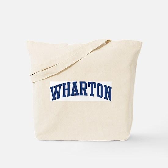 WHARTON design (blue) Tote Bag