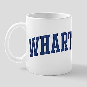 WHARTON design (blue) Mug