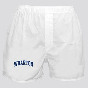WHARTON design (blue) Boxer Shorts