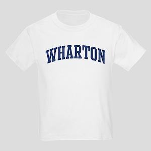 WHARTON design (blue) Kids Light T-Shirt