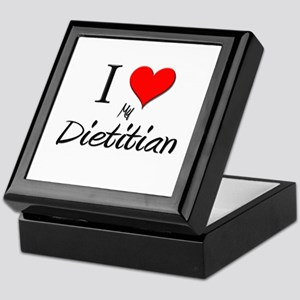 I Love My Dietitian Keepsake Box