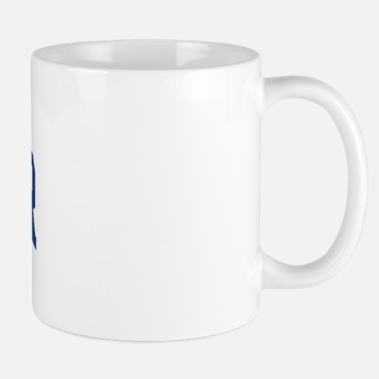 WINNER design (blue) Mug
