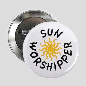 Sun Worshipper Button