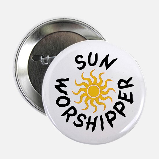 Sun Worshipper Button