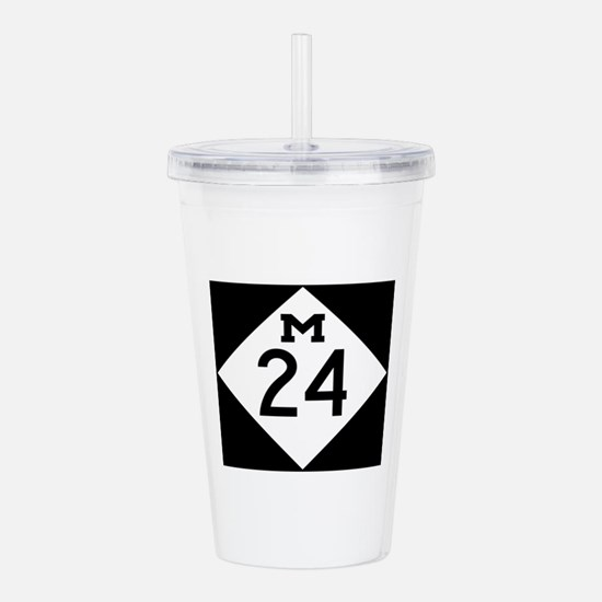 Michigan M24 Acrylic Double-wall Tumbler