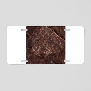 Beef Jerky Aluminum License Plate