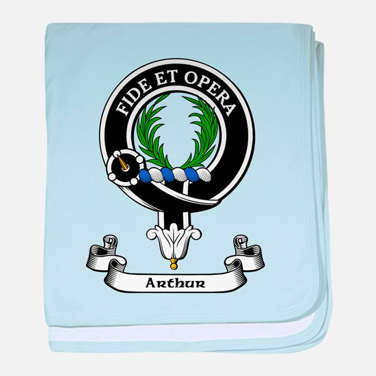 Badge - Arthur baby blanket