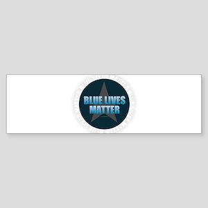 BLUE LIVES MATTER Bumper Sticker