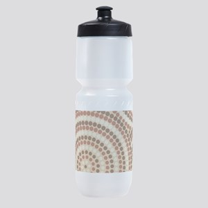 Dot Painting Earth Sports Bottle