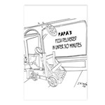 Pizza Cartoon 9338 Postcards (Package of 8)
