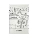 Meat Cartoon 9340 Rectangle Magnet (10 pack)