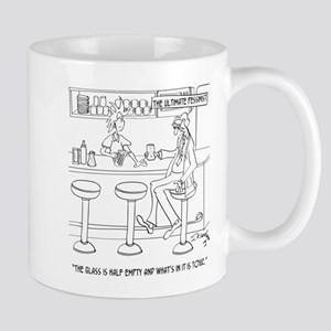 Pessimist Cartoon 9333 Mug