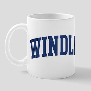 WINDLE design (blue) Mug