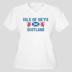 Isle of Skye Women's Plus Size V-Neck T-Shirt