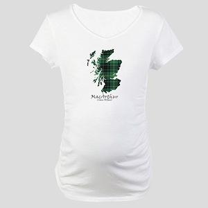 Map - MacArthur Maternity T-Shirt