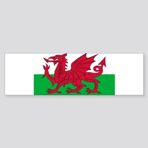 "Flag of Wales (Baner Cymru, ""The Re Bumper Sticker"