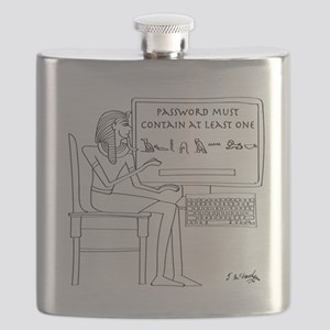 Computer Cartoon 9341 Flask