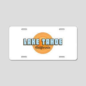Lake Tahoe Aluminum License Plate