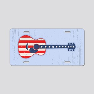 RWB Acoustic Aluminum License Plate